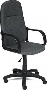 Офисное <b>кресло Tetchair LEADER</b> (<b>ткань</b>, серый, 207) купить в ...