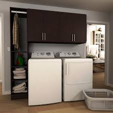 Laundry Cabinets Home Depot Modifi Madison 60 In W White Laundry Cabinet Kit Enl60a Mpw The