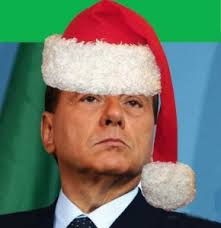 babbo2520natale2520berlusconi. Squadre schierate in campo, o quasi, gran casino negli spogliatoi, Berlusconi a motivare i senatori fino a tarda notte, ... - babbo2520natale2520berlusconi-290x300