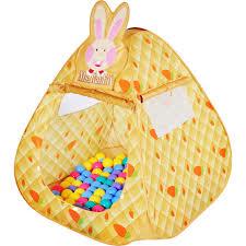 """<b>Игровой</b> домик <b>Ching</b>-<b>ching</b> """"<b>Кролик</b>"""" (треугольник) с шарами ..."""