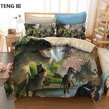 <b>New fashion creative style</b> home textile digital printing dinosaur ...