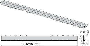 <b>Решетка AlcaPlast Tile</b> 750 под кладку плитки купить в магазине ...
