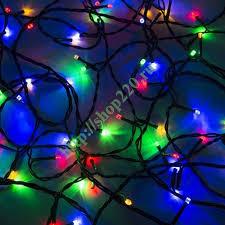 Купить <b>Гирлянда Твинкл Лайт</b> 10 м, черный ПВХ, 100 LED, 230V ...