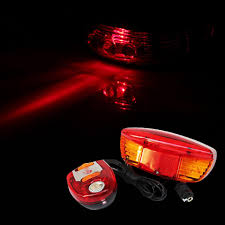 <b>LED Bicycle Bike Turn</b> Signal Directional Brake Light Lamp 8 Sound ...