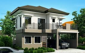 Sheryl   Four Bedroom Two Story House Design   Pinoy ePlans    Sheryl   Four Bedroom Two Story House Design  MHD