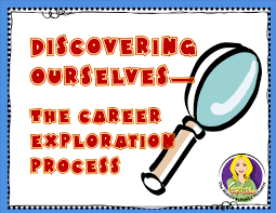 the middle school counselor discovering ourselves part of the career exploration is a process it isn t a one time event it takes years to really figure out what is the best possible career out there for us