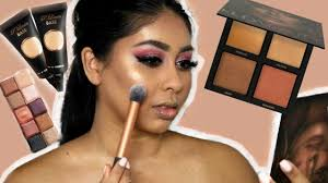 GET READY WITH ME | NEW <b>Huda Beauty Bronze Sands</b> Highlight ...