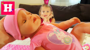 Распаковка куклы <b>Бэби Борн</b> и переноски-кенгуру. <b>Baby born</b> doll ...