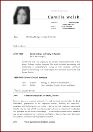 resume samples for student seasonal nurse sample resume pdf resume 6 cv samples for students sendlettersinfo cv samples for students 30778745 6 cv samples for students