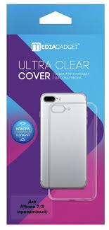 <b>Чехол Media Gadget</b> ESSENTIAL CLEAR <b>COVER</b> для iphone 7/8 ...