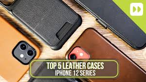 Top 5 <b>Leather Case For</b> iPhone 12 Mini/ 12/ Pro/ Pro Max - YouTube