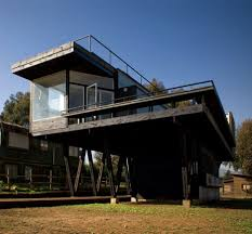 images about Stilt house on Pinterest   House on stilts       images about Stilt house on Pinterest   House on stilts  Architects and Cabin