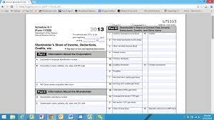 phantom income business economics a library of information form 1120s k 1