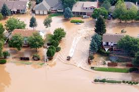 u s department of defense photo essay an aerial view shows flood damage in colorado sept 14 2013 due
