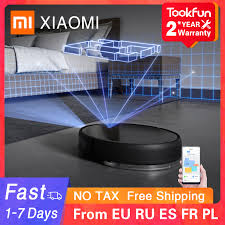 Sweeping WIFI 3000PA Mopping XIAOMI Cyclone Dust Planned ...