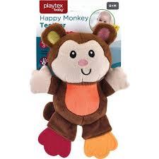 Playtex <b>Baby Happy Monkey</b> Teether <b>Toy</b>   Bealls Florida