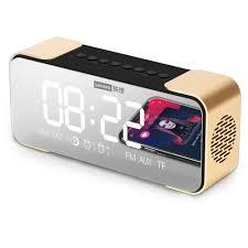 <b>Lenovo L022 Bluetooth</b> Speaker Alarm Clock Digital Alarm Clock ...