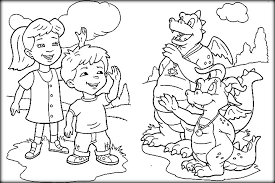 Small Picture Printable Dragon Tales Coloring Pages For Preschoolers Color Zini