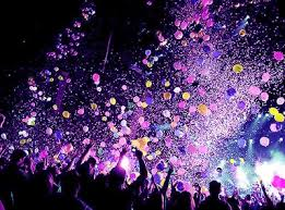 Image result for balloons and confetti