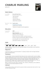 accounting intern resume samples   visualcv resume samples databaseaccounting intern resume samples