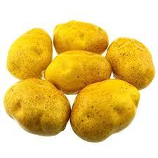 <b>Gresorth 6pcs Artificial</b> Potato <b>Lifelike Fake</b> Vegetable Home Kitchen ...