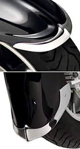 Cast Front Fender Tips 2 Piece Set - <b>Kawasaki</b> VN1700 <b>Vulcan</b> ...