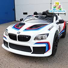 Детский <b>электромобиль BMW M6 GT3</b>, с кондиционером и ...