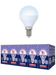 <b>Лампочка</b> Volpe <b>Комплект</b> из 10 <b>светодиодных ламп</b> LED-G45-9W ...