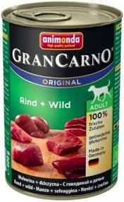 <b>Animonda Gran Carno Original консервы</b> для собак с говядиной и ...