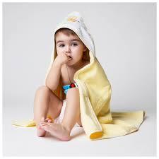 """Набор <b>полотенец</b> с капюшоном Spasilk """"Зверята"""", цвет: желтый ..."""