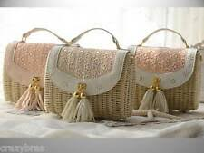 Pink <b>Straw</b> Small Bags & Handbags for <b>Women</b> | eBay