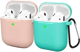 Compatible AirPods Case Cover <b>Silicone</b> Protective <b>Skin for</b> Apple