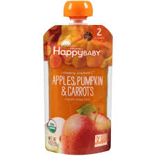 Happy Baby Clearly Crafted Stage 2 <b>Organic Baby Food</b>, <b>Apples</b> ...