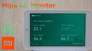 Монитор качества воздуха <b>Xiaomi Mijia Air</b> Quality Tester - YouTube