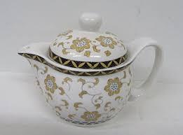 <b>Чайник заварочный керамический 300мл</b>. Орнамент (662С) 60шт.