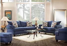 blue leather living room furniture blue living room furniture ideas
