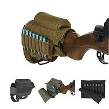 Wsobue <b>Rifle</b> Buttstock, Hunting Shooting <b>Tactical</b> Cheek <b>Rest</b> Pad ...