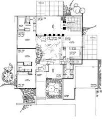ideas about Courtyard House Plans on Pinterest   Courtyard      bed    bath contemporary  around a central courtyard