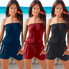 women casual summer tube tops sexy sleeveless strap solid cami backless tank