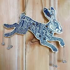 Lepus Hare <b>Constellation</b> Wooden Laser Cut Decoration