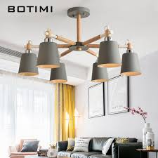 <b>Botimi</b> Modern <b>Led</b> Chandelier For Living Room E27 Lustres <b>Ceiling</b> ...