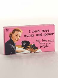 get along your coworkers gum more money and power gum