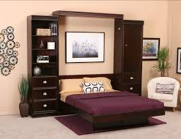 traditional dark brown space saving beds bedding bedroom wall bed space saving furniture