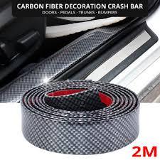 2M*3CM <b>auto</b> car <b>protection</b> bumper strip universal <b>decorative</b> ...