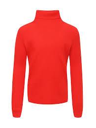 Купить <b>водолазку базовую</b> из <b>шерсти</b> Il Gufo красную (495396) в ...