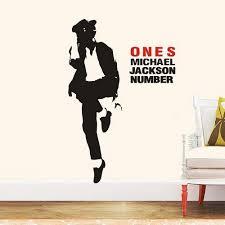 Polyvinyl Decal <b>Michael Jackson Wall</b> Sticker, Size/Dimension: 45.7 ...
