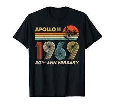 Apollo 11 50th Anniversary <b>Moon</b> Landing 1969 - <b>2019</b> Vintage T-Shirt