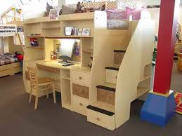 bunk bed with desk underneath and trundle bunk bed desk trundle
