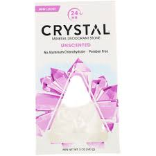 Crystal Body Deodorant <b>Mineral Deodorant Stone Unscented</b> 5 oz ...