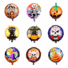 HDBFH The aluminum film <b>Balloon Festival Halloween</b> decoration ...